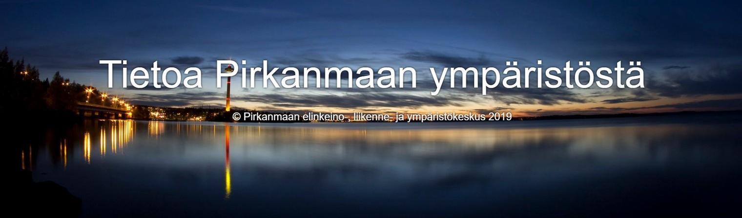 Tietoa Pirkanmaan Ympäristöstä -tarinakartta.